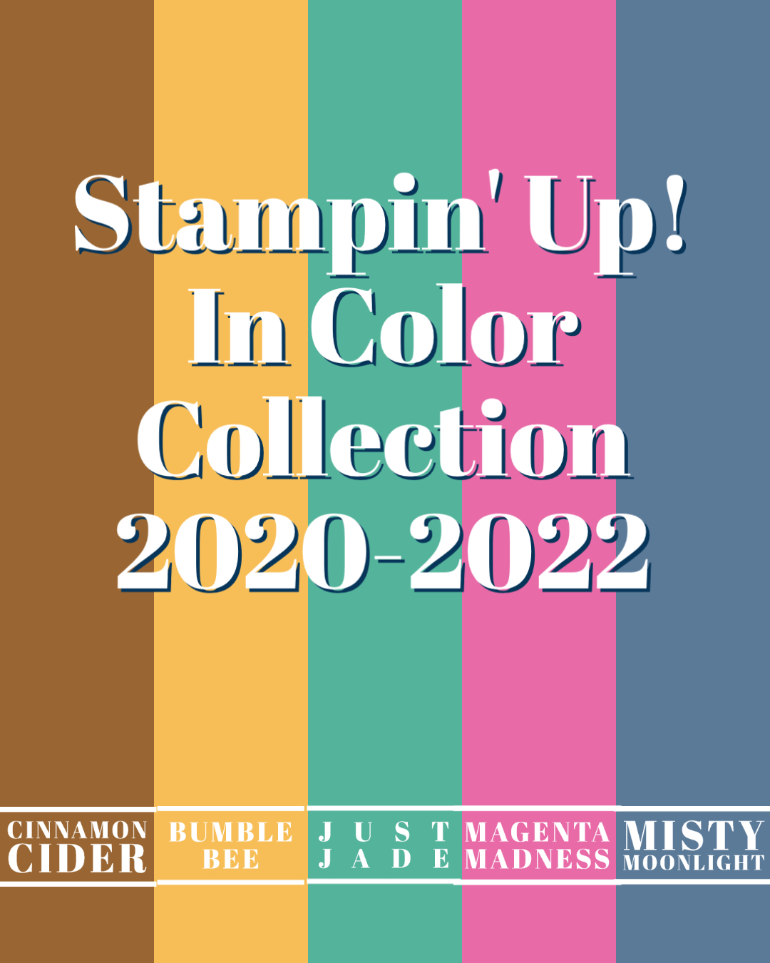 Stampin' Up! In Color Collection 2020-2022