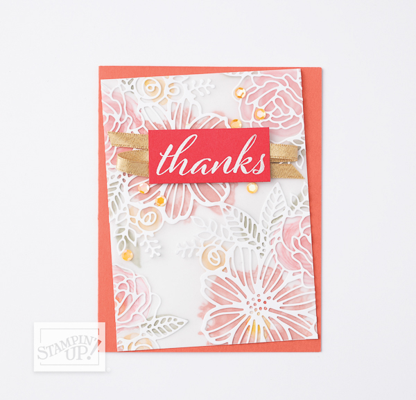 EXPRESSIONS IN INK SUITE - Thanks Card
