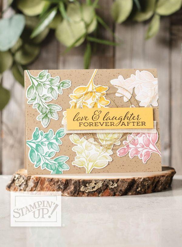 Forever Greenery Cards