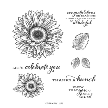 Stamp Sweet Sunflowers With This Stamp Set From Stampin' Up!
