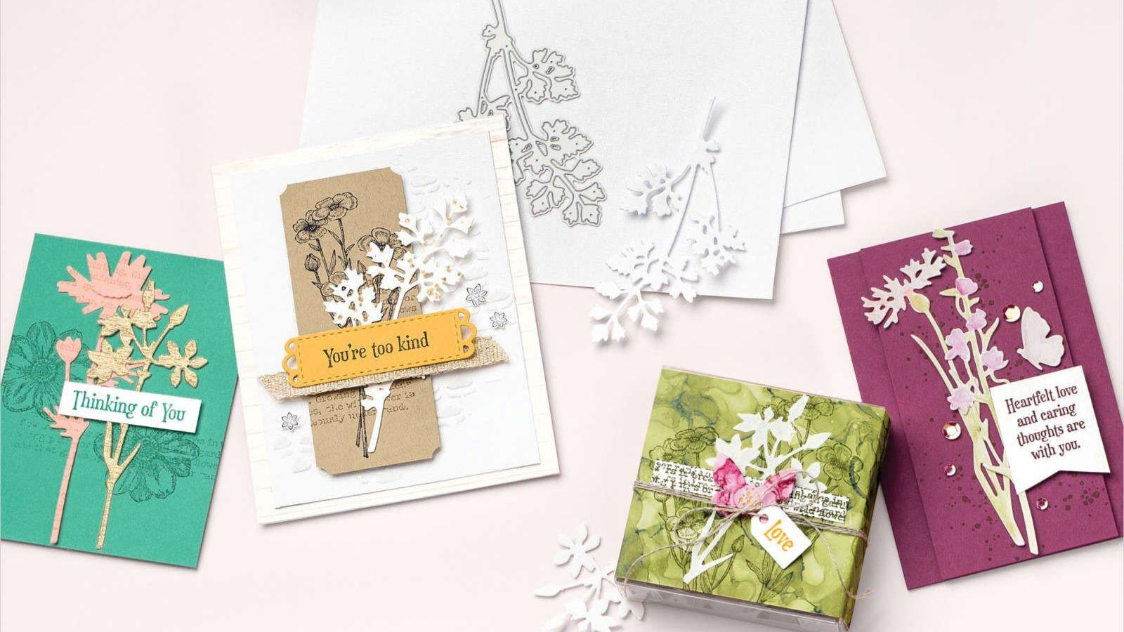 QUIET MEADOW CLING STAMP SET