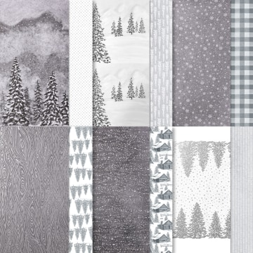 Peaceful Place 12 X 12 (30.5 X 30.5 Cm) Specialty Designer Series Paper