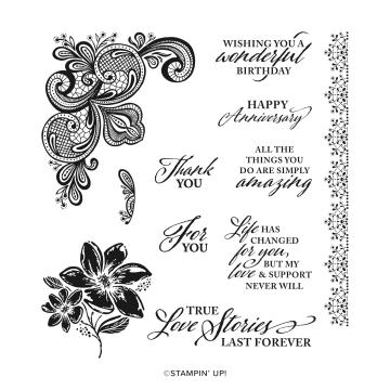 Elegantly Said Cling Stamp Set