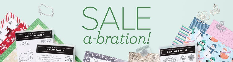 Sale-A-Bration Time!