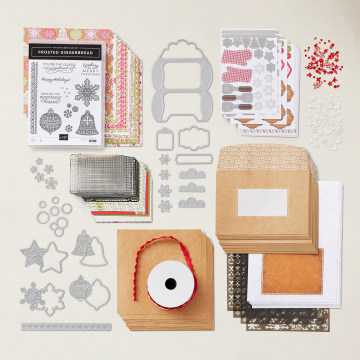 Gingerbread & Peppermint Suite Collection By Stampin' Up!