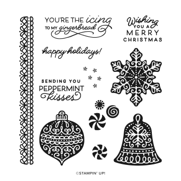 Frosted Gingerbread Stamp Set By Stampin' Up!