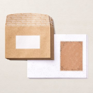 Gingerbread & Peppermint Memories & More Cards & Envelopes By Stampin' Up!