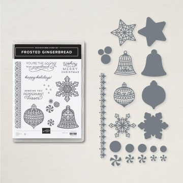 Frosted Gingerbread Bundle By Stampin' Up!
