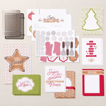 Gingerbread & Peppermint Memories & More Card Pack By Stampin' Up!