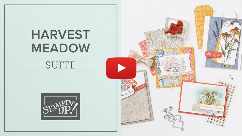Harvest Meadow Suite | By Stampin' Up!